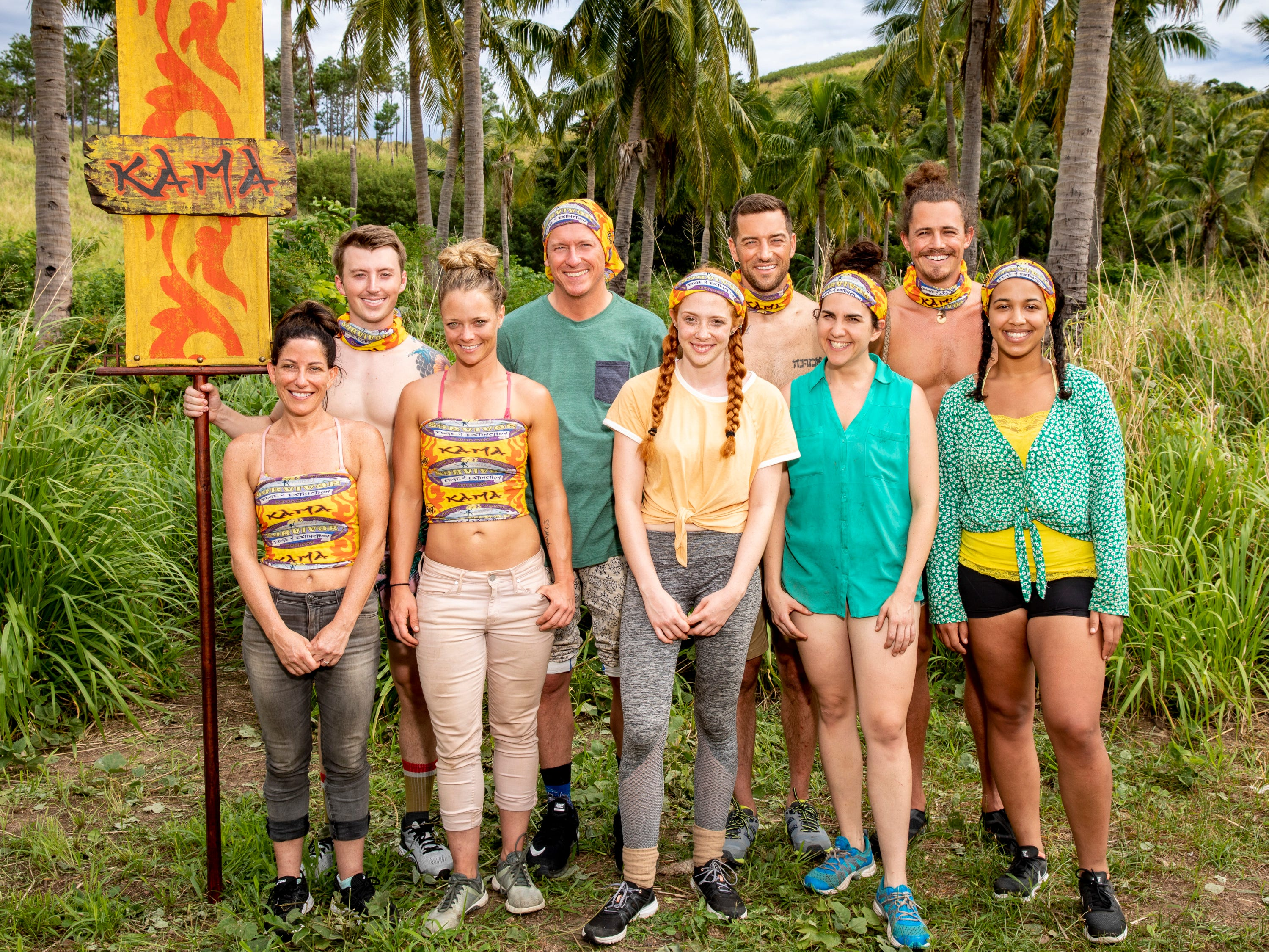 "The Kama Tribe, featuring East Tennessee's Gavin Whitson, is competing on ""Survivor: Edge of Extinction."""