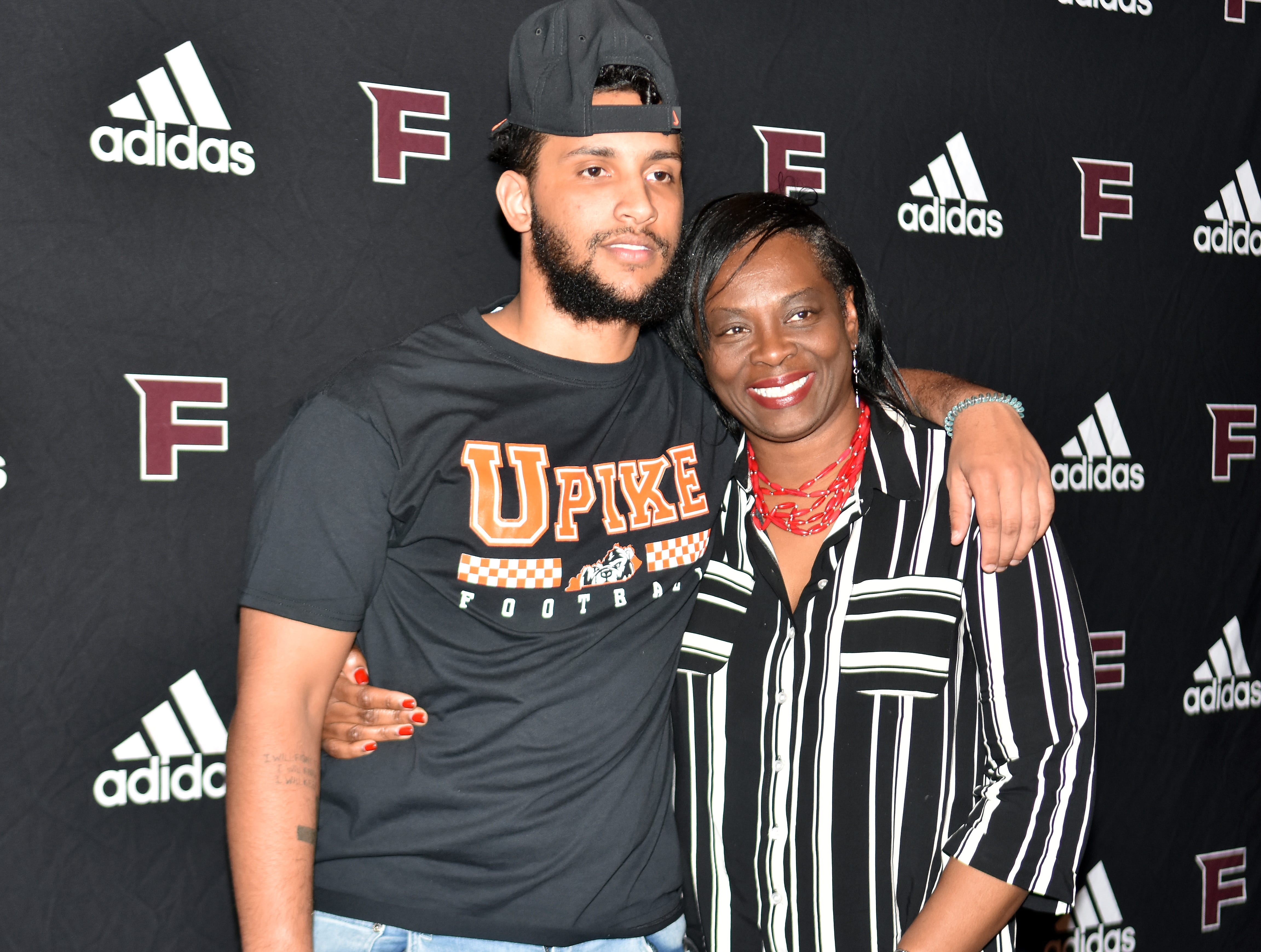 Xavier Malone from Fulton High signed to play football at University of Pikeville on National Signing Day, Wednesday, February 6, 2019.