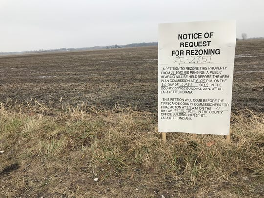 Fieldstone II, a proposed subdivision near the corner of County Roads 600 North and 150 West, would include more than 500 homes on 145 acres, within a mile of Harrison High School. It's one of several planned subdivisions that could add roughly 1,900 homes in a 1.5-mile radius of Harrison, Battle Ground Middle School and Burnett Creek Elementary.