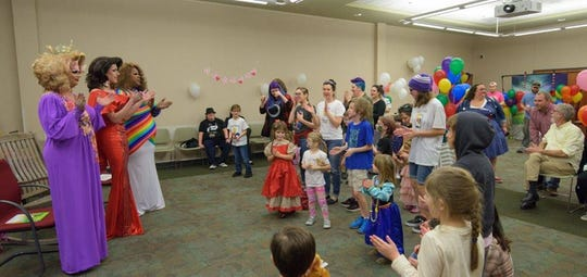 After the dismissal of a federal lawsuit challenging Drag Queen Story Time last week, the event was held Sunday, Feb. 3, 2019.