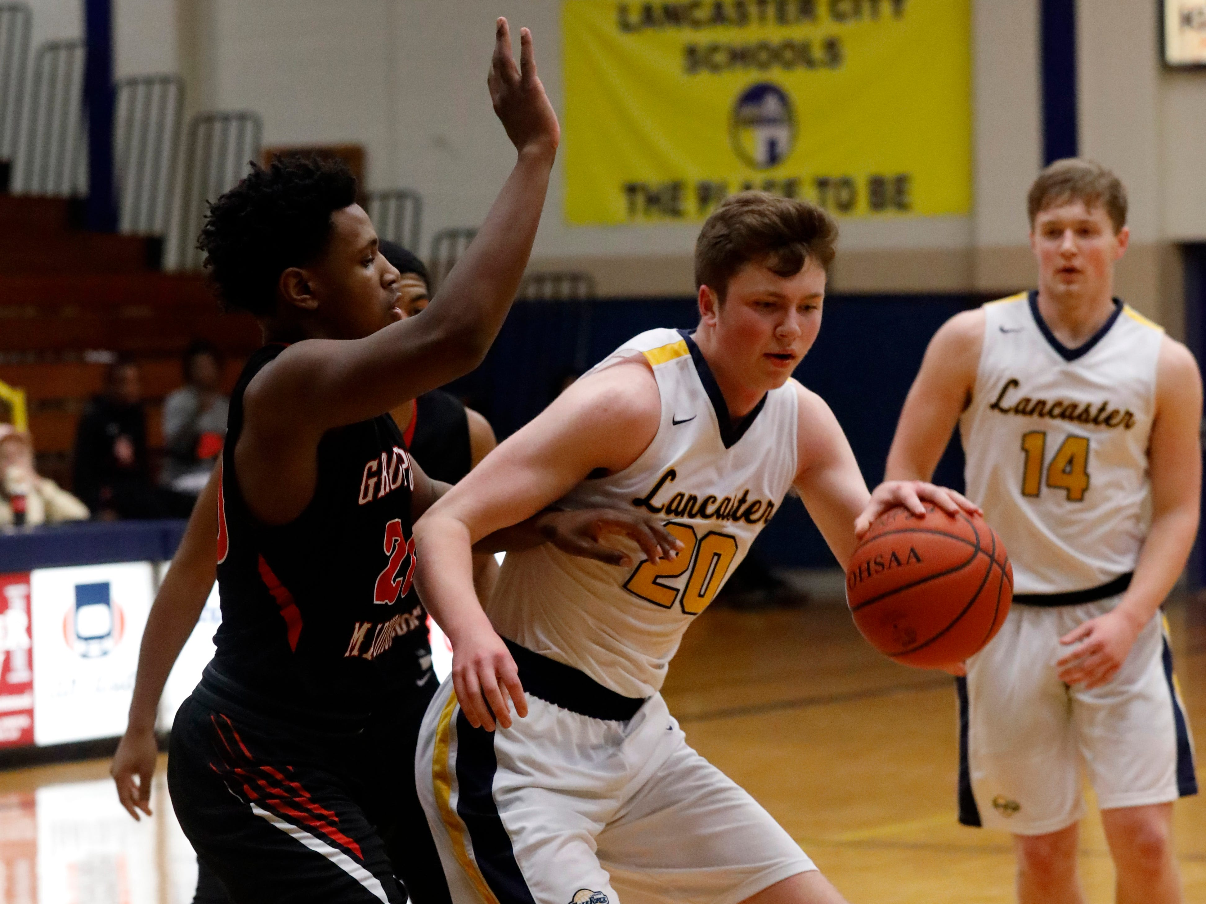 Lancaster lost to Groveport Madison 47-40 Tuesday night, Feb. 5, 2019, at Lancaster High School in Lancaster.