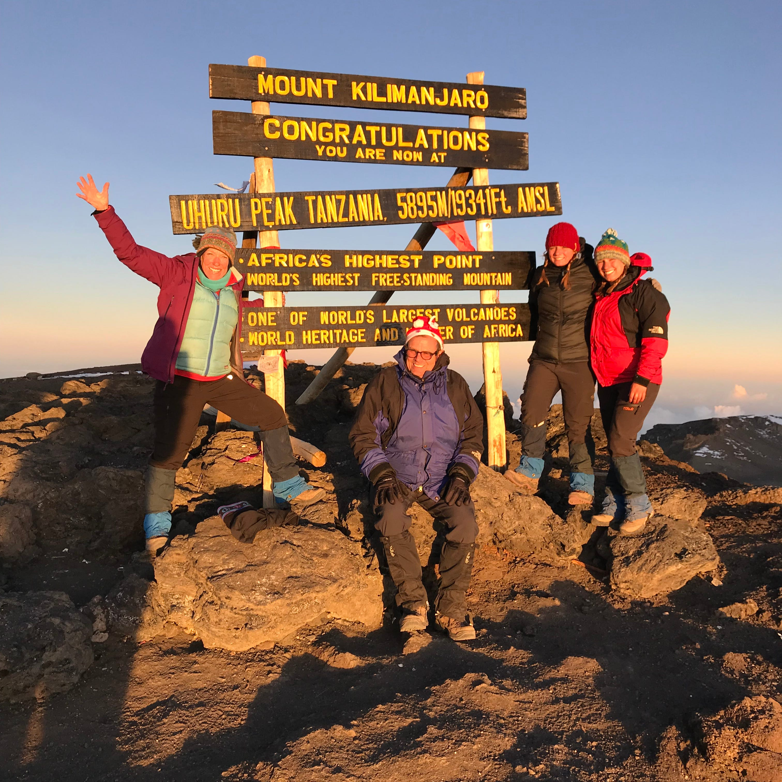 For my family of four, climbing Mount Kilimanjaro was true test of faith