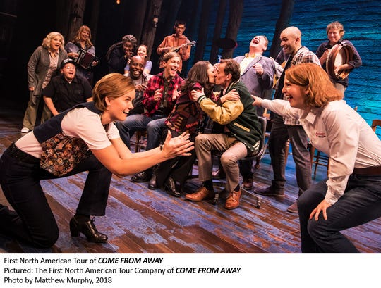 """The First North American Tour Company of """"Come From Away."""""""