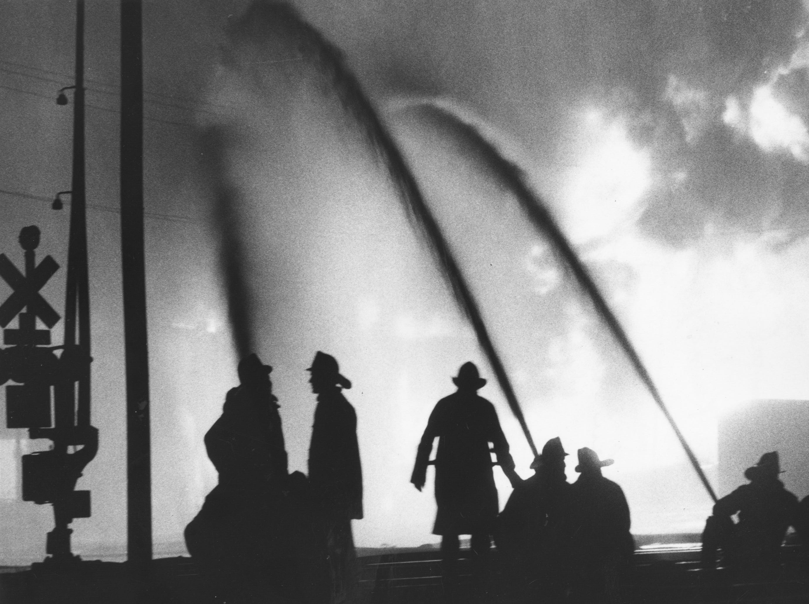 A fire at the Bronco Chemical Co. located at 14th and Kentucky.