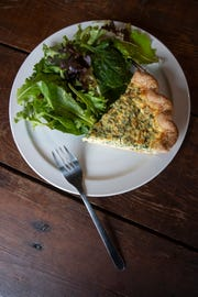 The quiche at Farm to Fork Catering & Cafe. Feb. 6, 2019
