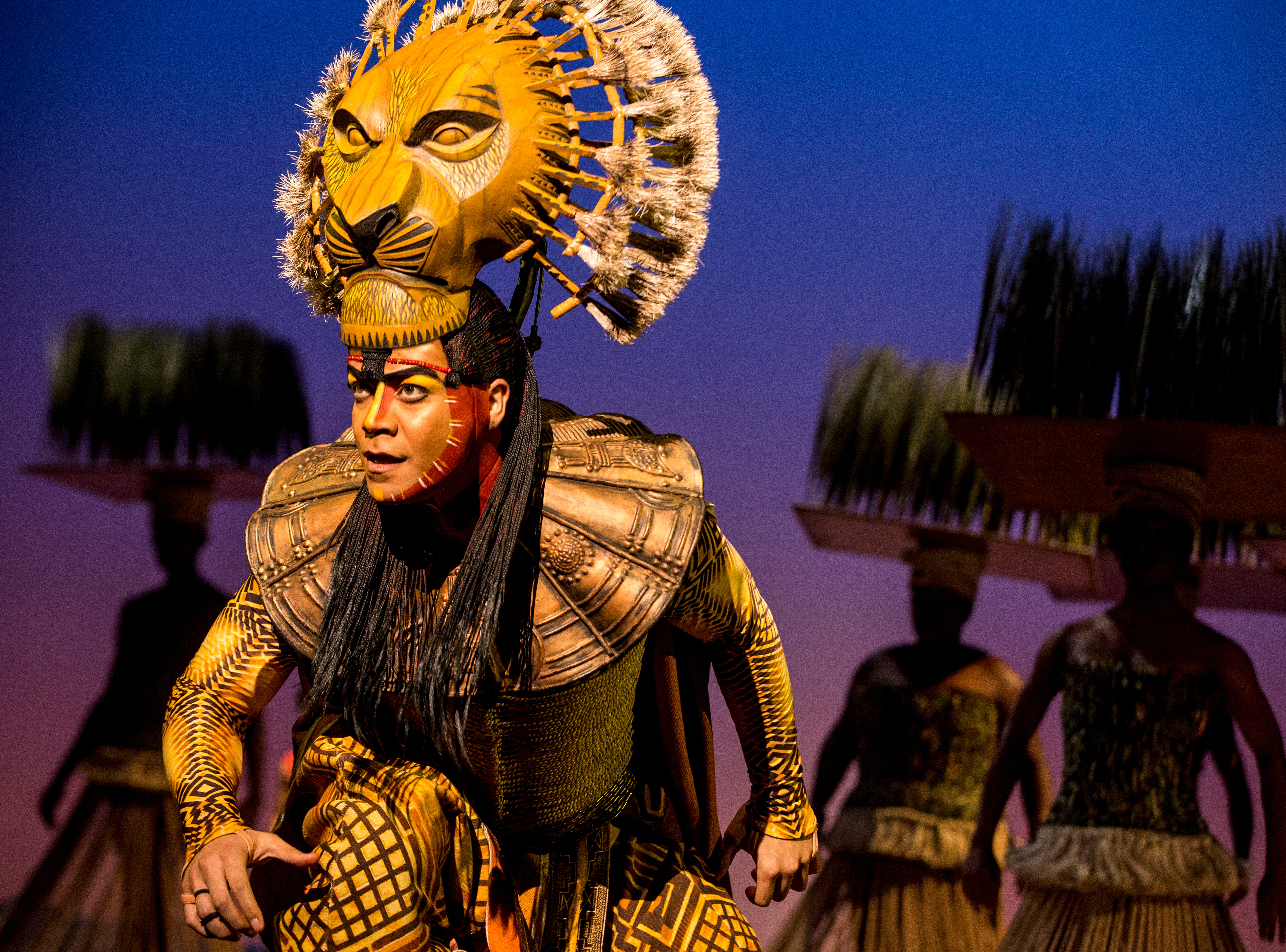 """Gerald Ramsey as Mufasa in Disney's """"The Lion King"""" North American Tour."""