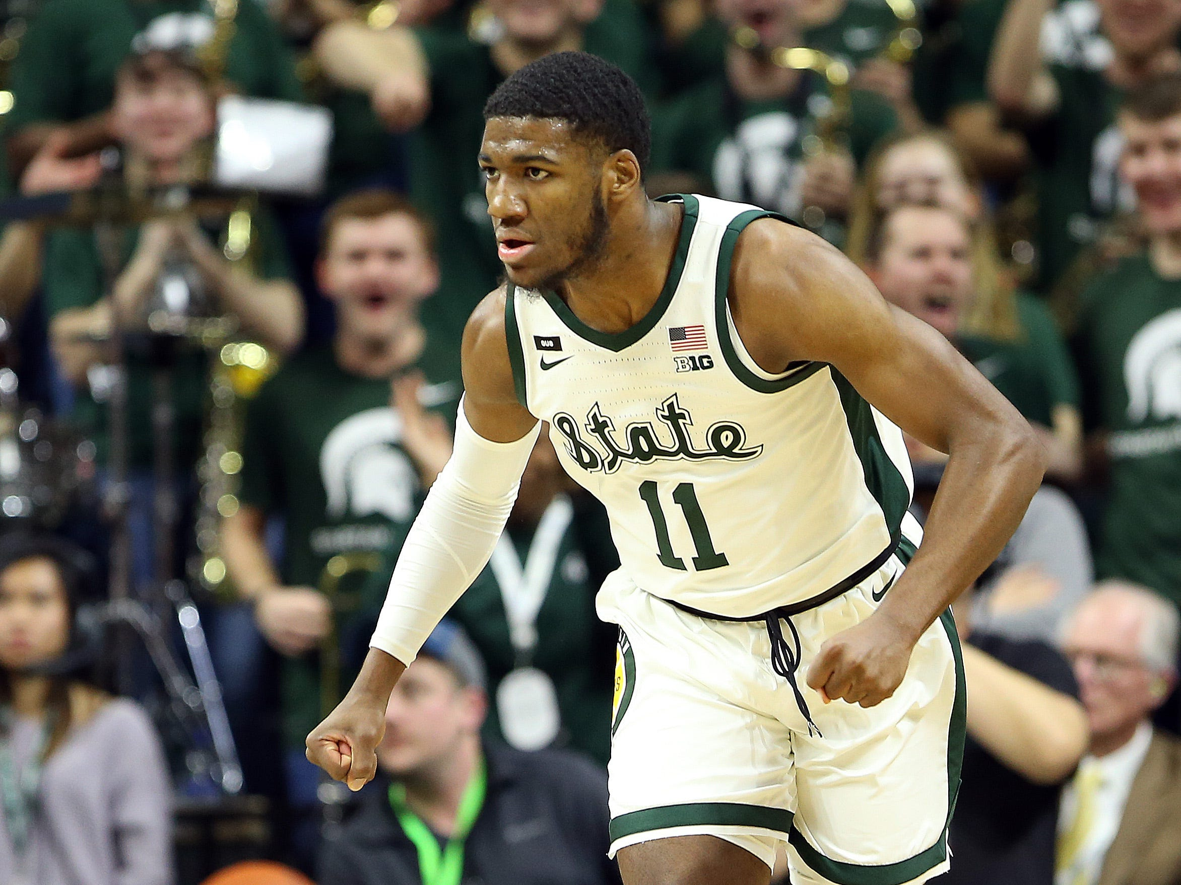 Aaron Henry has only scored in double digits once this season, with 12 points against Maryland (pictured). That's remarkable given how much he's impacted MSU. The Spartans need even more from him the rest of the way.