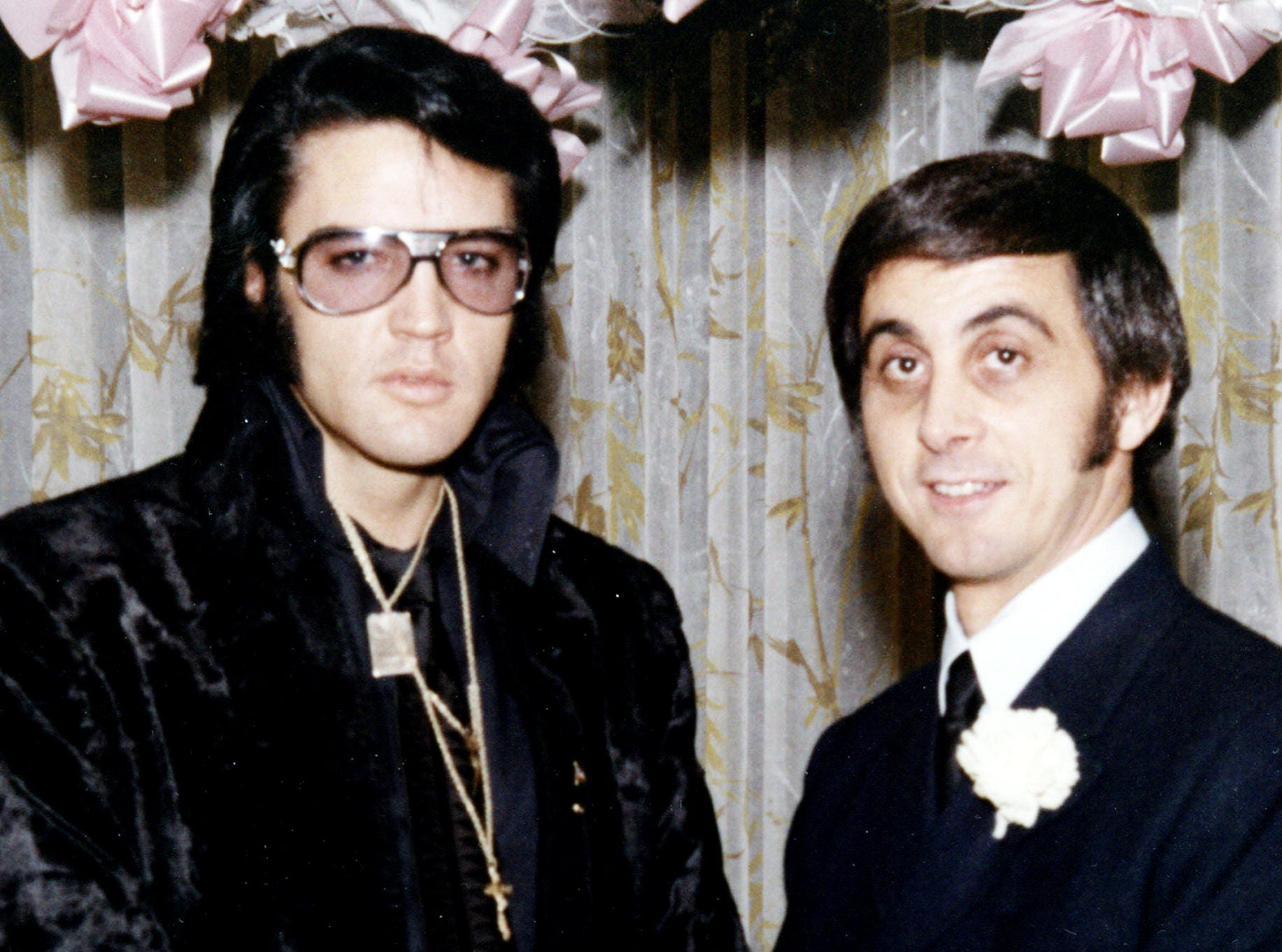 """In this book cover image released by Crown Publishing, """"Elvis: My Best Man,"""" by George Klein and with Chuck Crisafulli is shown."""