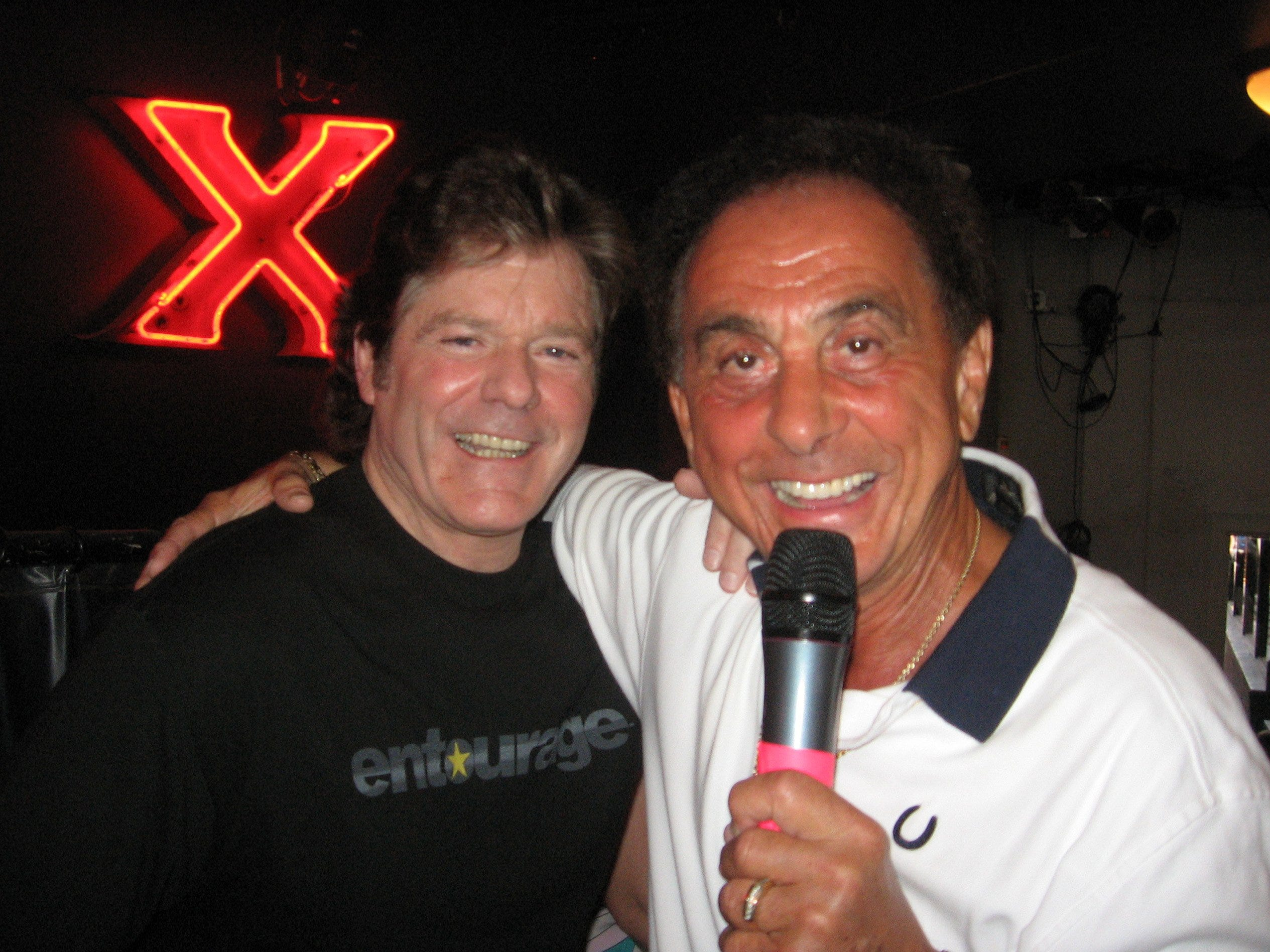 Jerry Schilling, left, was a special guest of George Klein, right, at Klein's Elvis Mafia Reunion Tour.