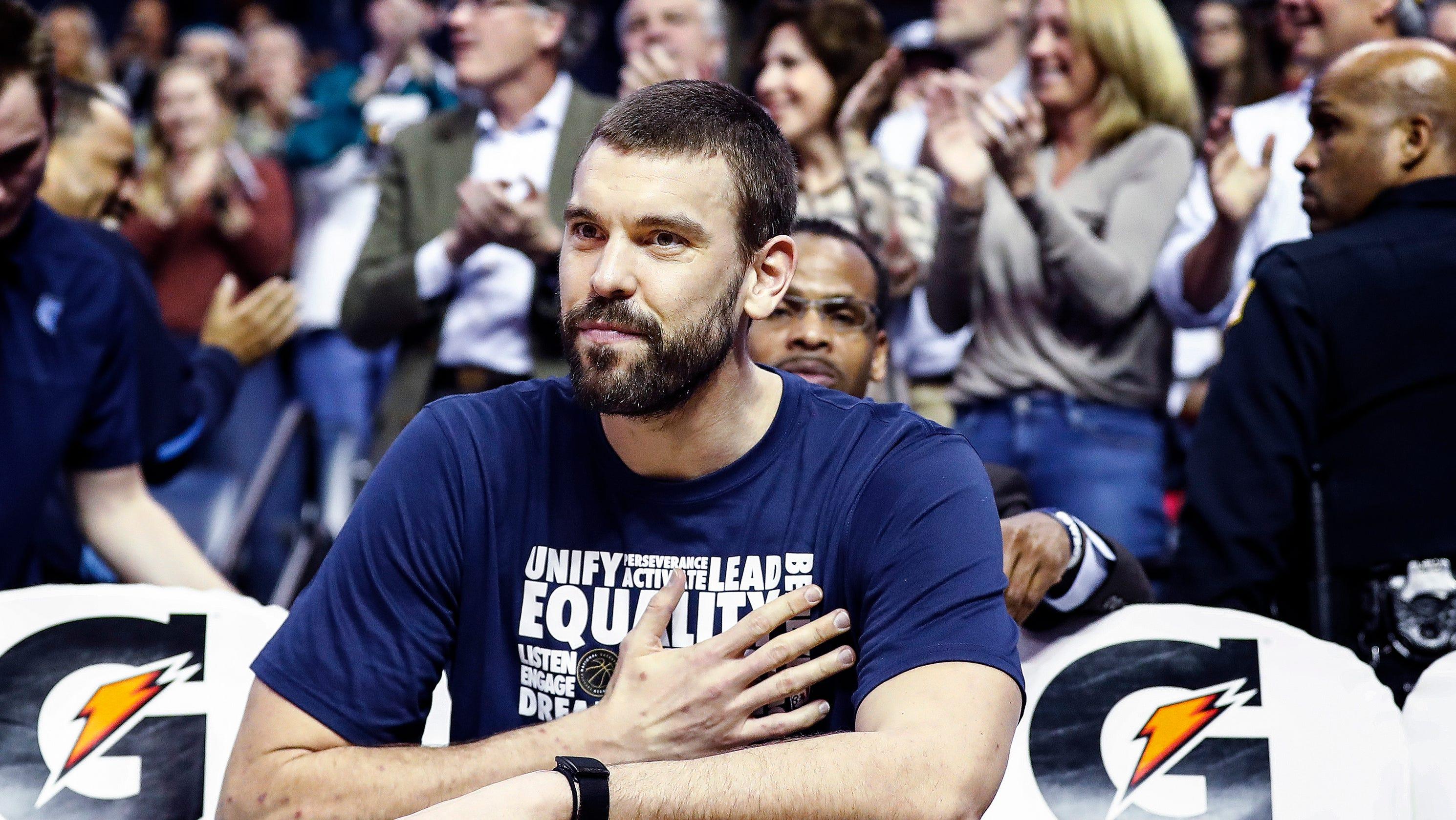 193b0e196e0 Marc Gasol tweets farewell to Memphis after trade to Toronto Raptors