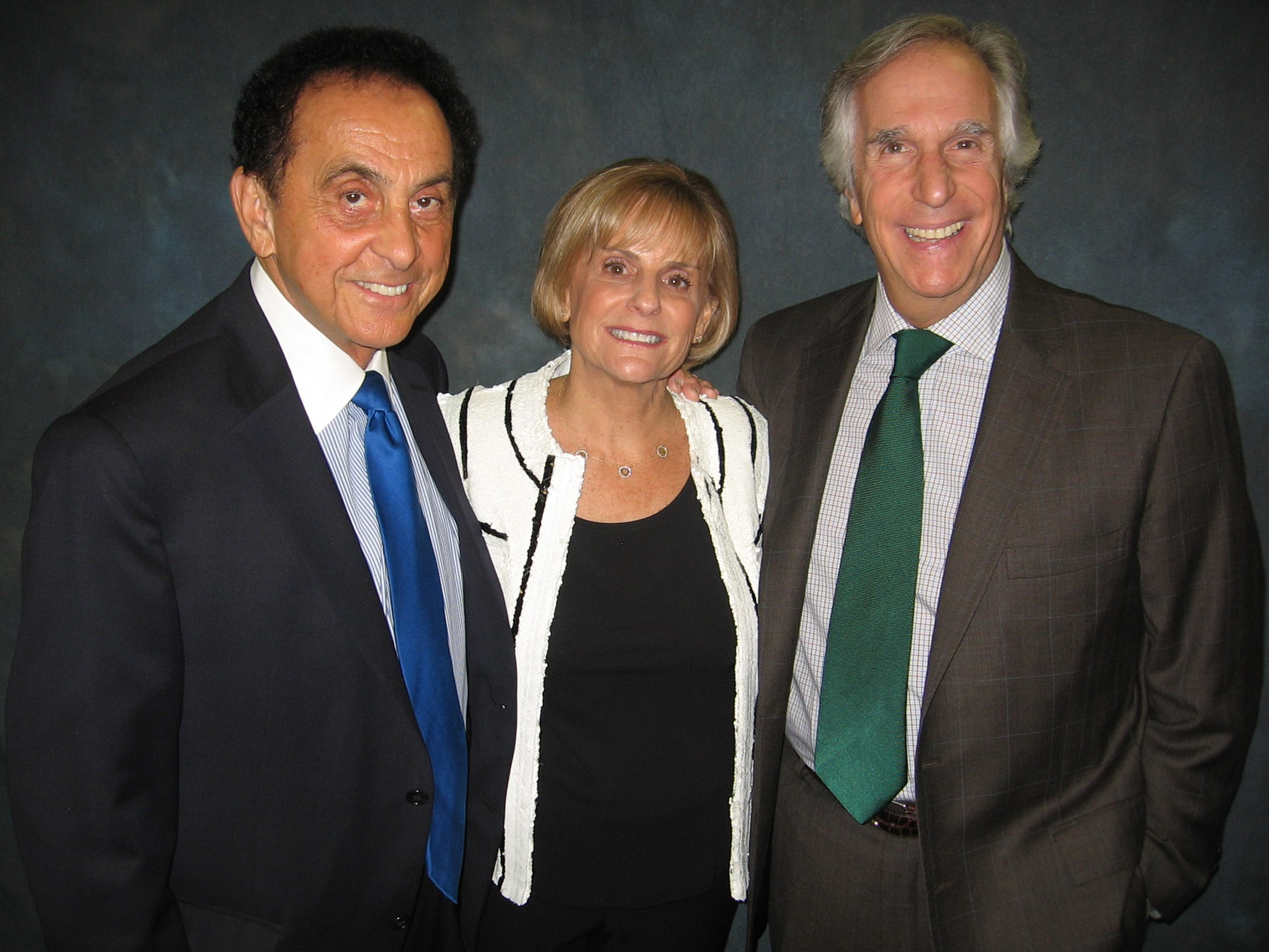 Sept. 23, 2012 - Henry Winkler was the guest speaker at the Memphis Jewish Home & Rehab celebration at Baron Hirsch Synagogue. George Klein was master of ceremonies and Geri Lansky is president of the home.