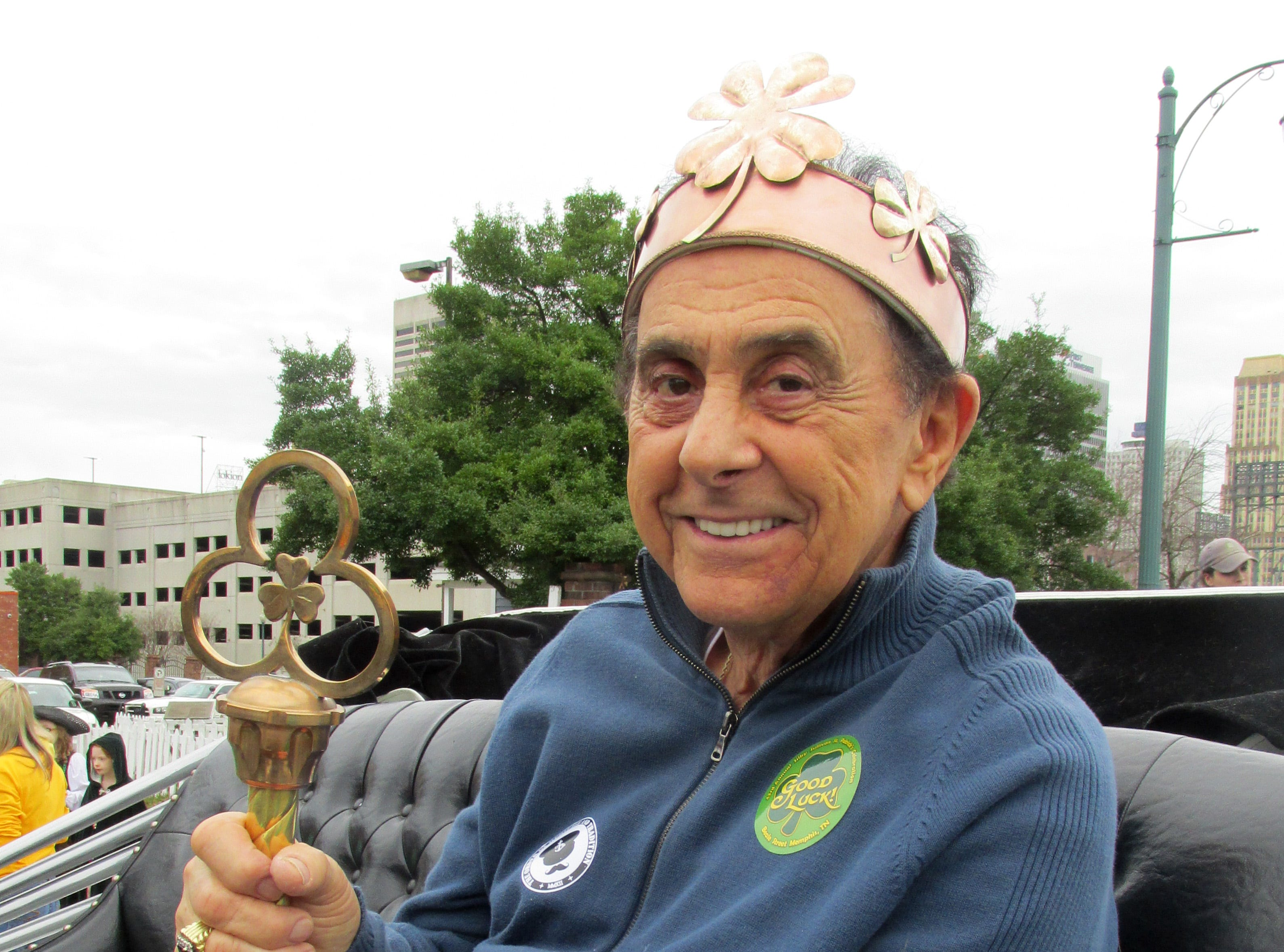 March 12, 2016 - George Klein was king of the Silky Sullivan's St. Patrick's Parade.