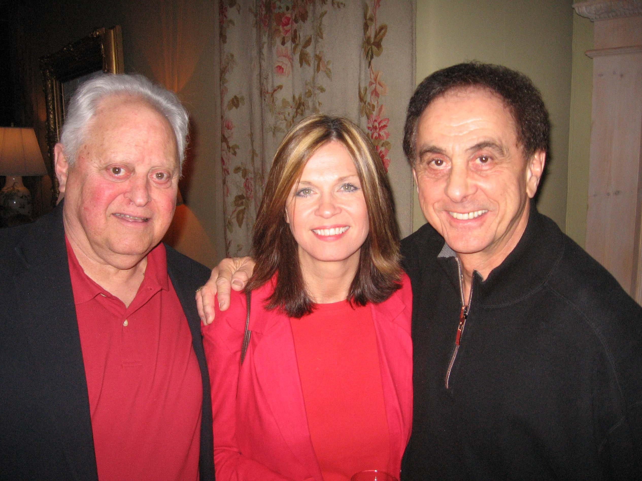 From left, Herb O'Mell, Dara and George Klein at Pat Kerr Tigrett's party for Joan Collins April 20.