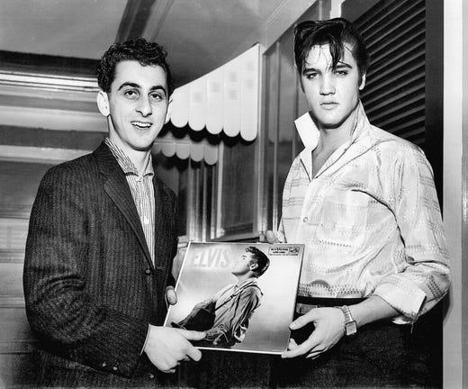 Image result for george klein elvis 1950s