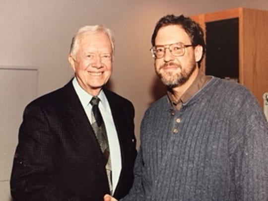 Jimmy Carter was president when I started working as a copy clerk for The Commercial Appeal in 1980. Over the years, I interviewed him four times -- the first time here at WKNO in 1999.