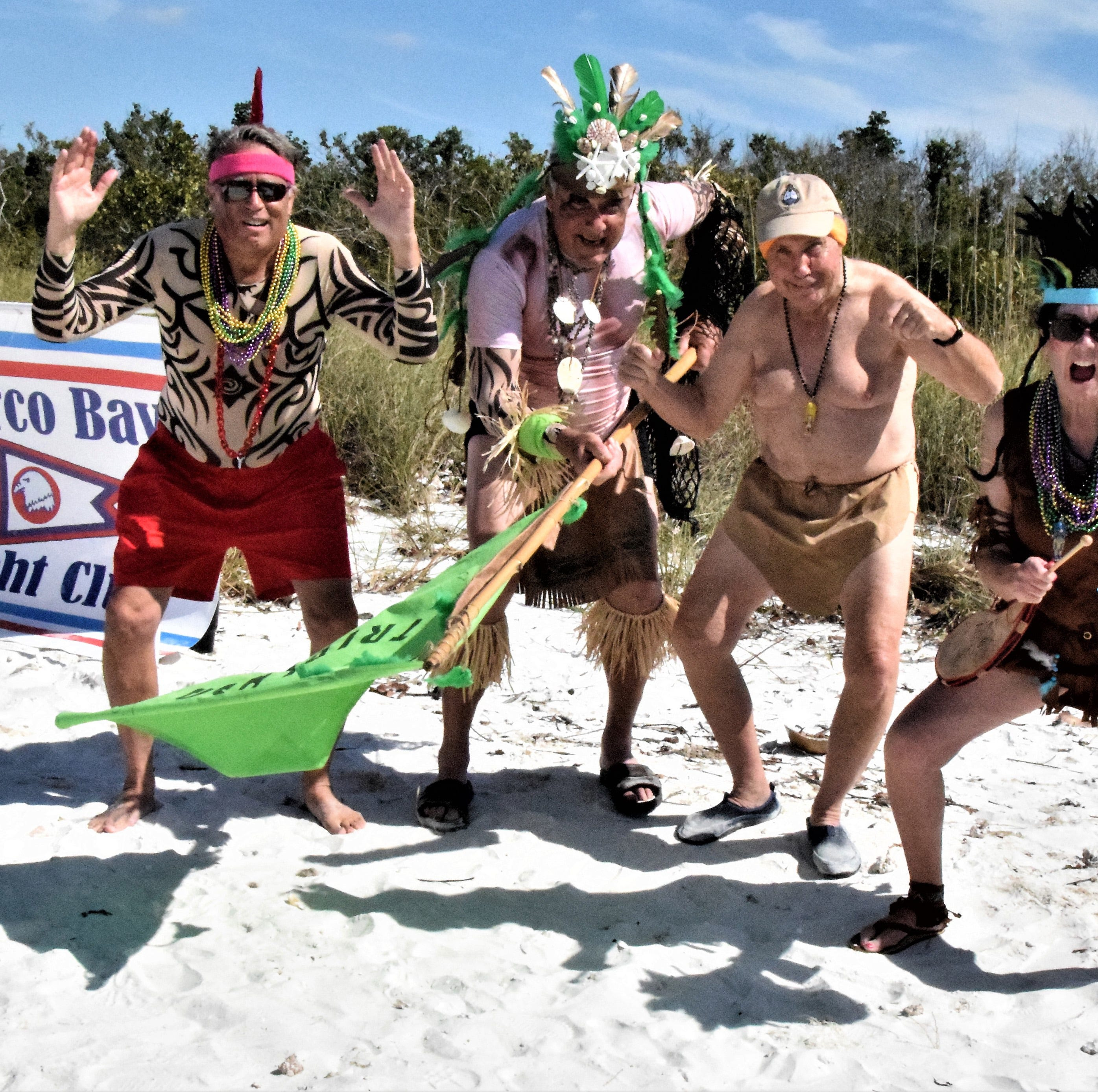 Marco Bay Yacht Club takes island 'Survivor' challenge