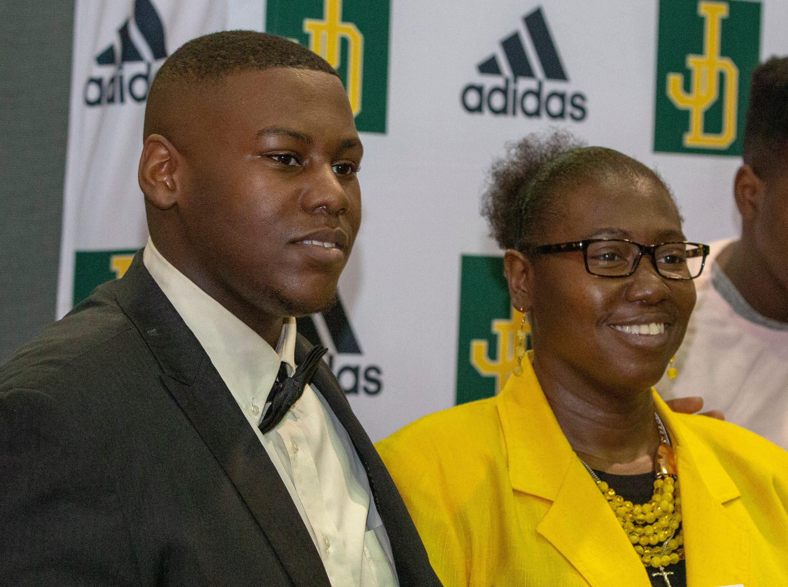 Patrick Duster, a Jeff Davis football player, will walk on at Alabama State University.