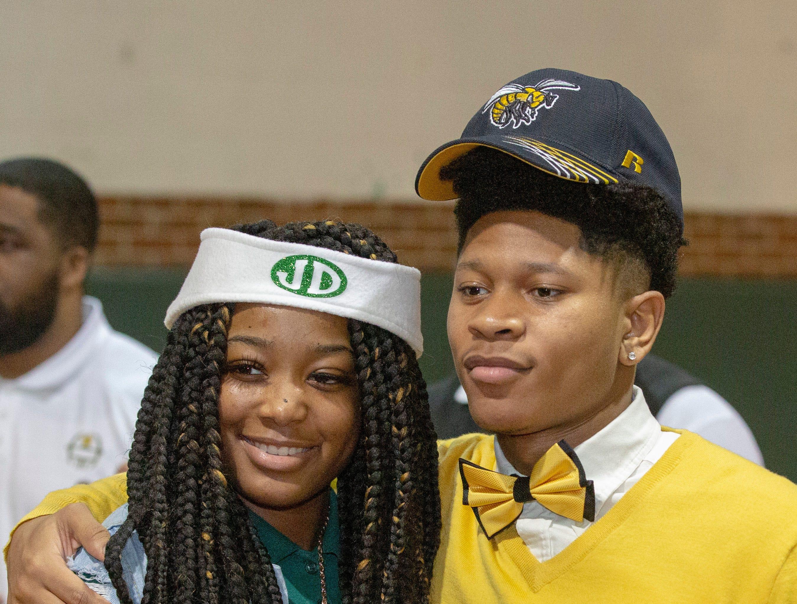 Rosales Washington, a Jeff Davis football player, will walk on at Alabama State University.