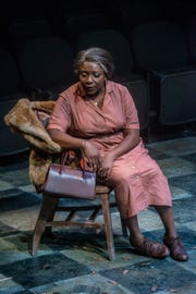 "Darlene Hope as Aunt Sarah in a scene from ASF's ""Nina Simone: Four Women."""