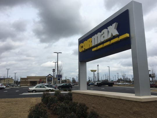 CarMax opened Wednesday at 5175 Woodmere Blvd. in Montgomery.
