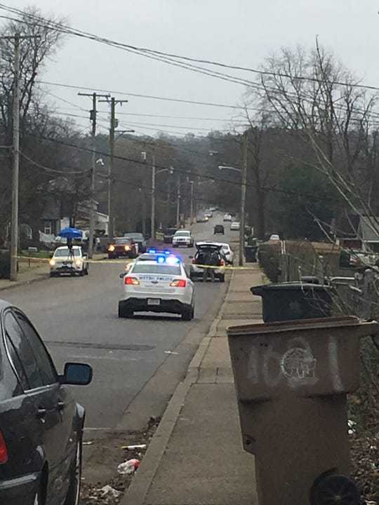 One person was shot mid-Wednesday morning in North Nashville, Metro Nashville police said Feb. 6, 2019.
