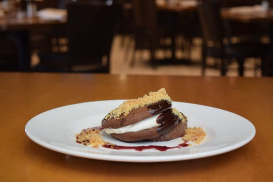Chocolate Custard Tart from Southern Steak & Oyster