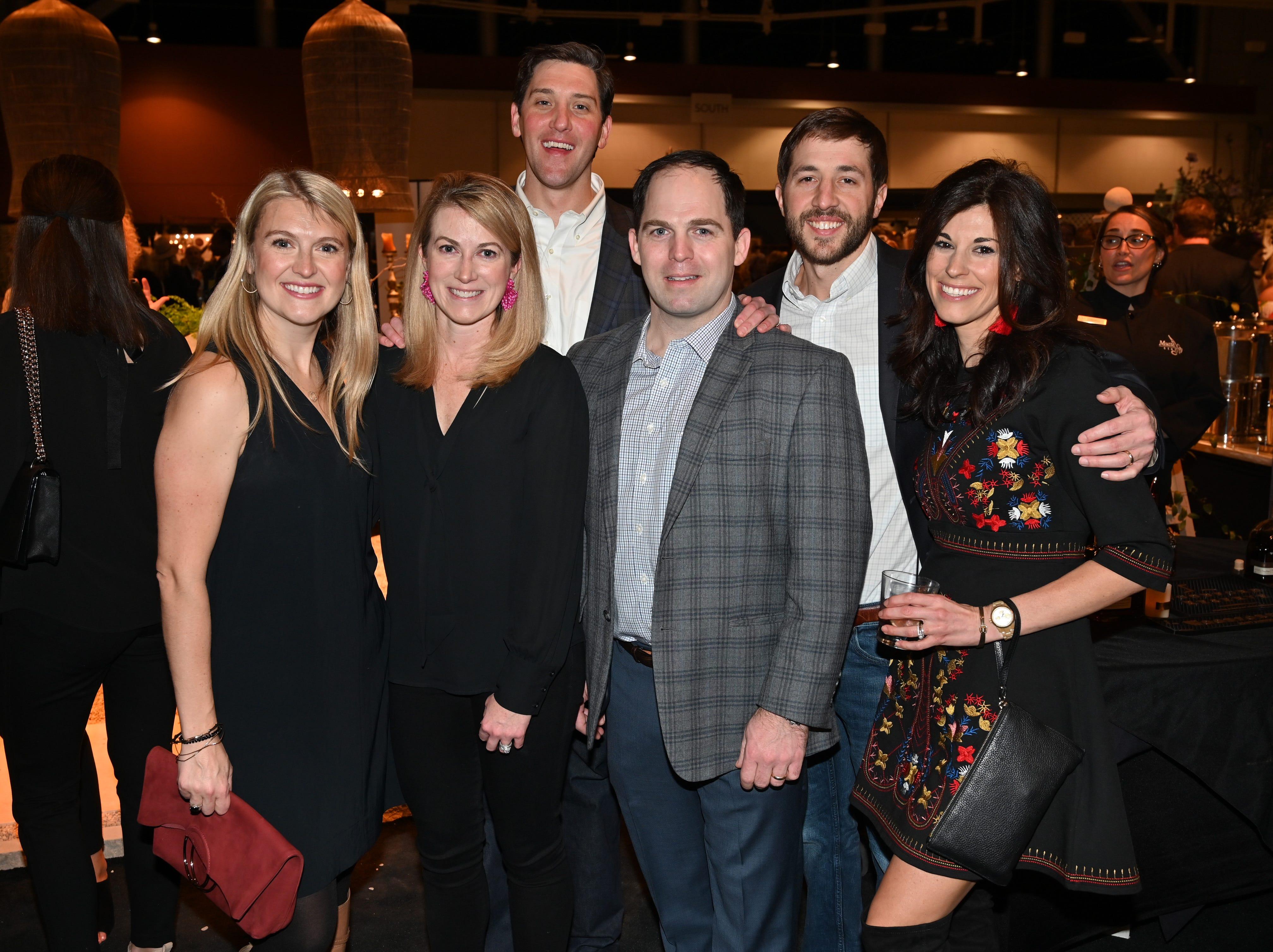 Abby Spaulding, Catherine and Patrick Warfield, Hilson Merrill, Billy and Rachel Pritchett