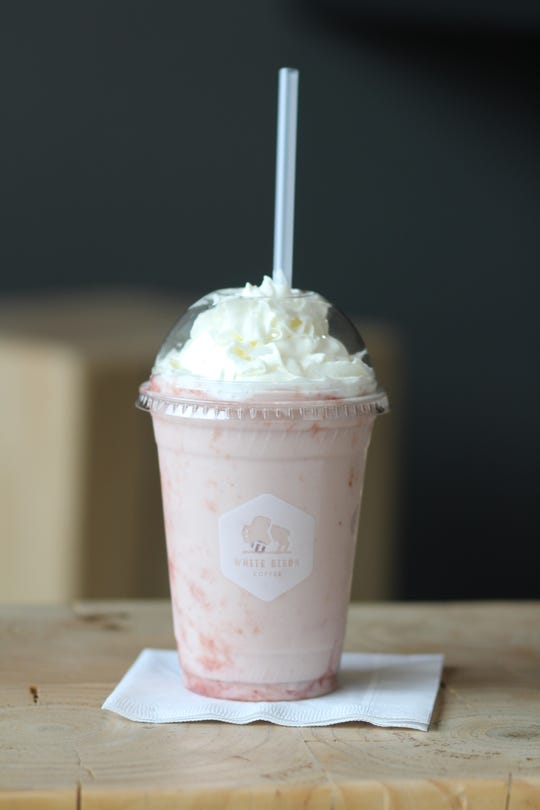 Sweetheart Frappe from White Bison Coffee
