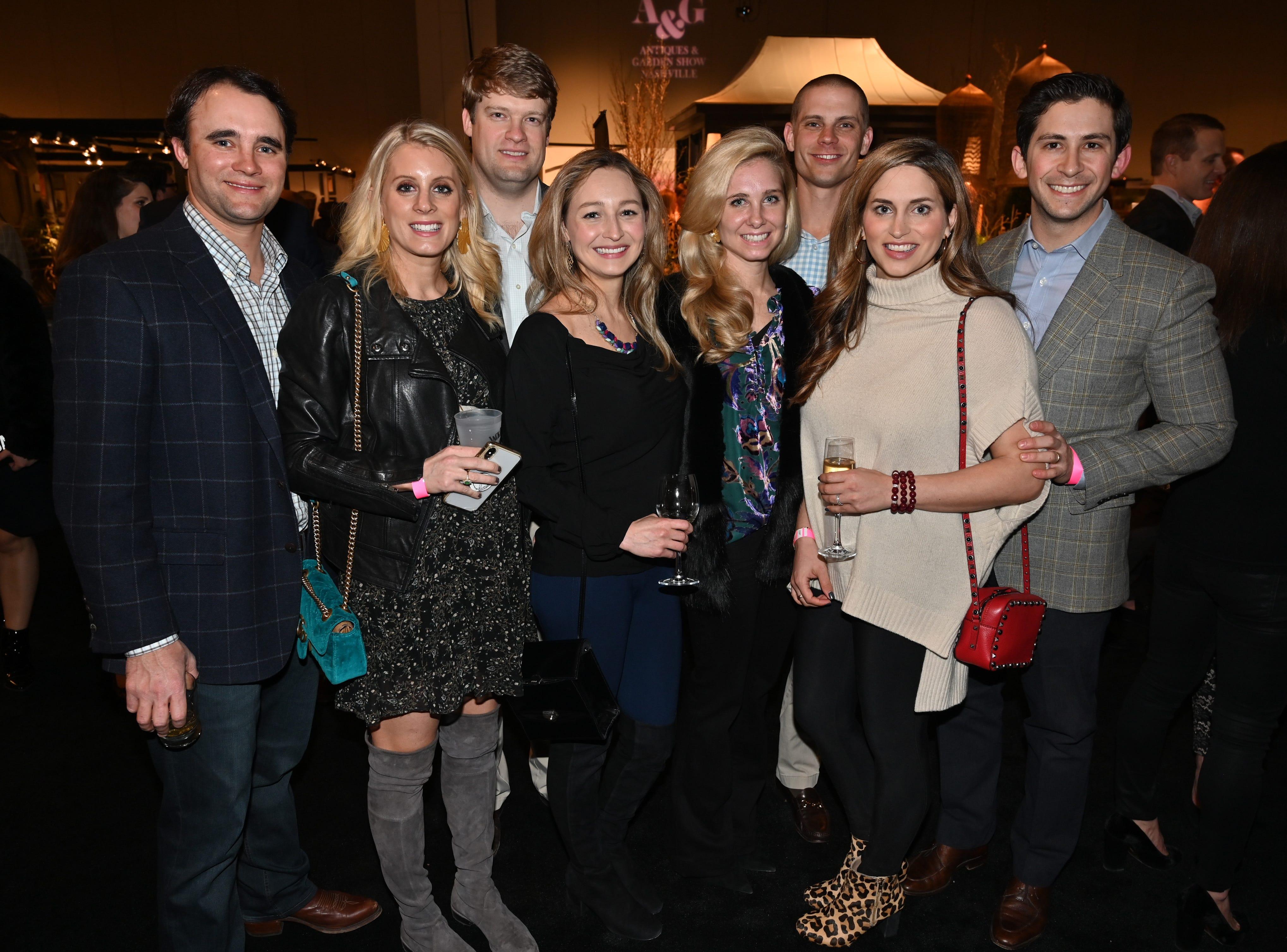 Hunter and Jacklene Creekmore, Charlie and Amy Morgan, Stephanie and Blake Carter, Dina and Jonathan Gluck