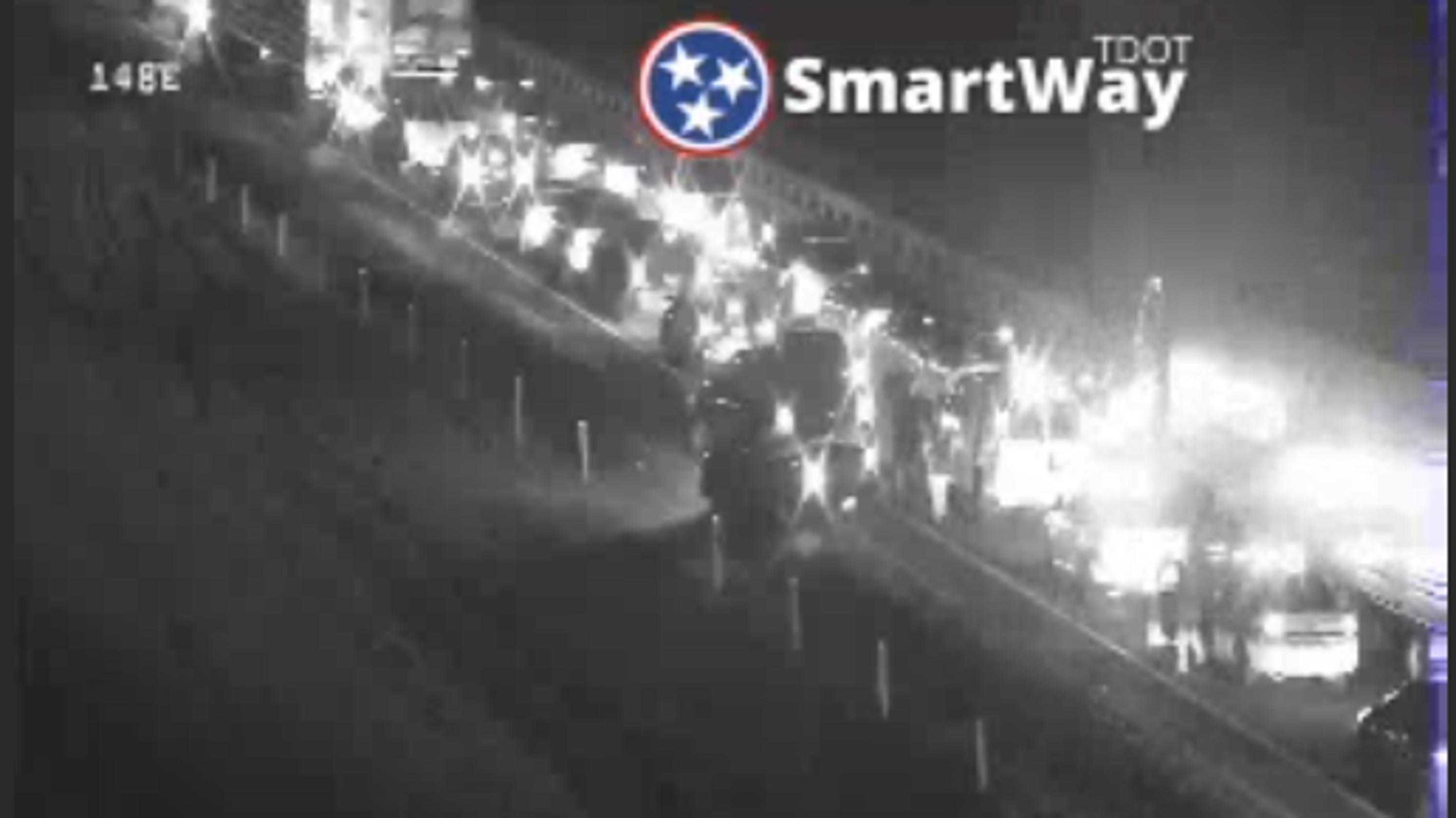 Nashville police: Clarksville woman killed in I-24 crash