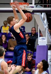 Belmont's Dylan Windler is a finalist for the Julius Erving Small Forward of the Year Award.