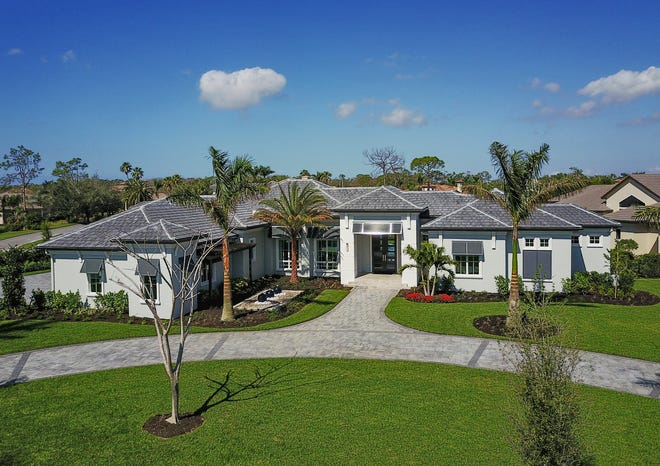 The Southampton model, priced at $3,750,000, is one of three residences McGarvey Custom Homes has available in Quail West.