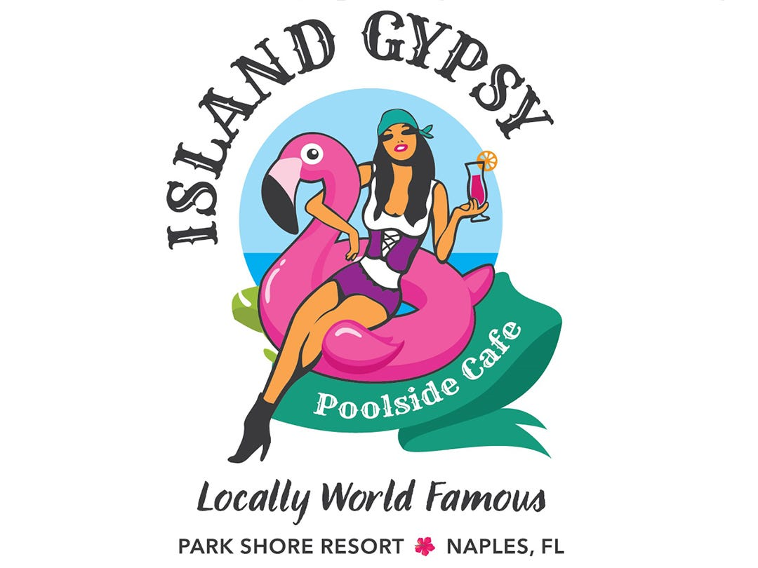 The Island Gypsy Poolside Cafe launched in January 2019 in the Park Shore Resort in Naples.