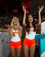 Shred a photo of your ex on Valentine's Day at Hooters and get free BOGO wings.
