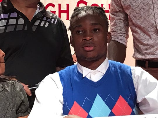 Immokalee defensive back Andrew Rene signed with Hutchinson Community College on Wednesday.