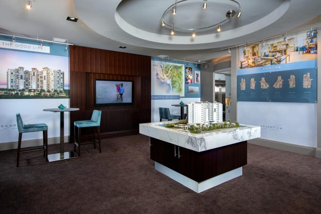 Grandview  sales center provides visitors with a preview of the lifestyle  available to homebuyers with a $100,000 developer incentive on all new reservations.