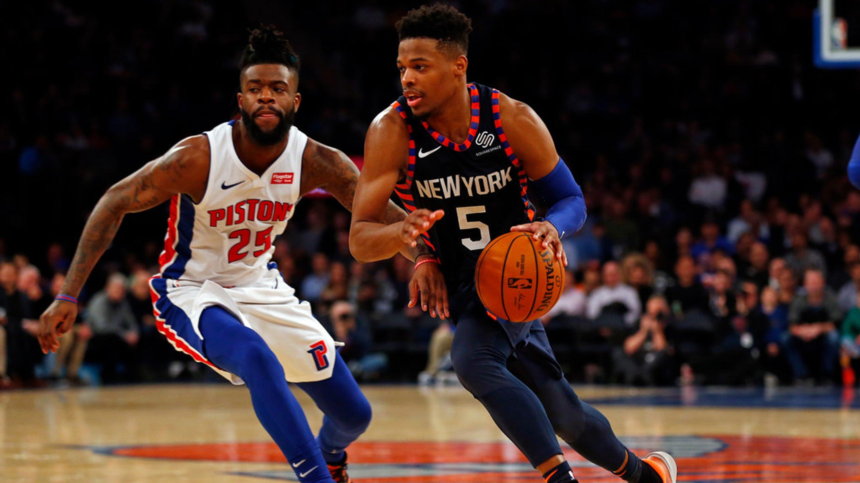 New York Knicks Have 'explosive Athlete' In Dennis Smith Jr