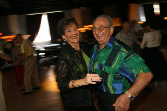 Irving Locker and his wife Bernice shared a dance at a senior social at Starlight Dance Center in Nutley in 2007.