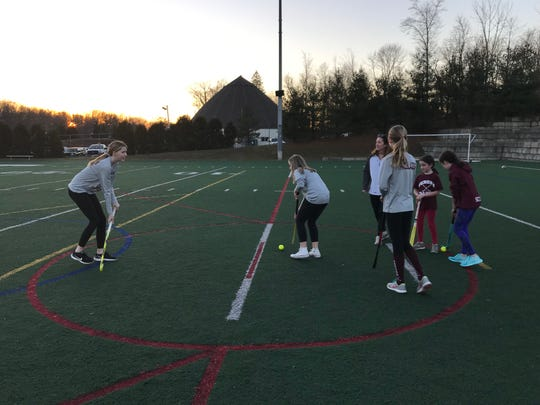Verona High School this fall will have a field hockey program for the first time in roughly 40 years, after local moms and former players banded together and sparked a love for the game for local girls. Some of the girls from the youth program in town are seen playing on a local field in Verona on Mon., Feb. 4, 2019.