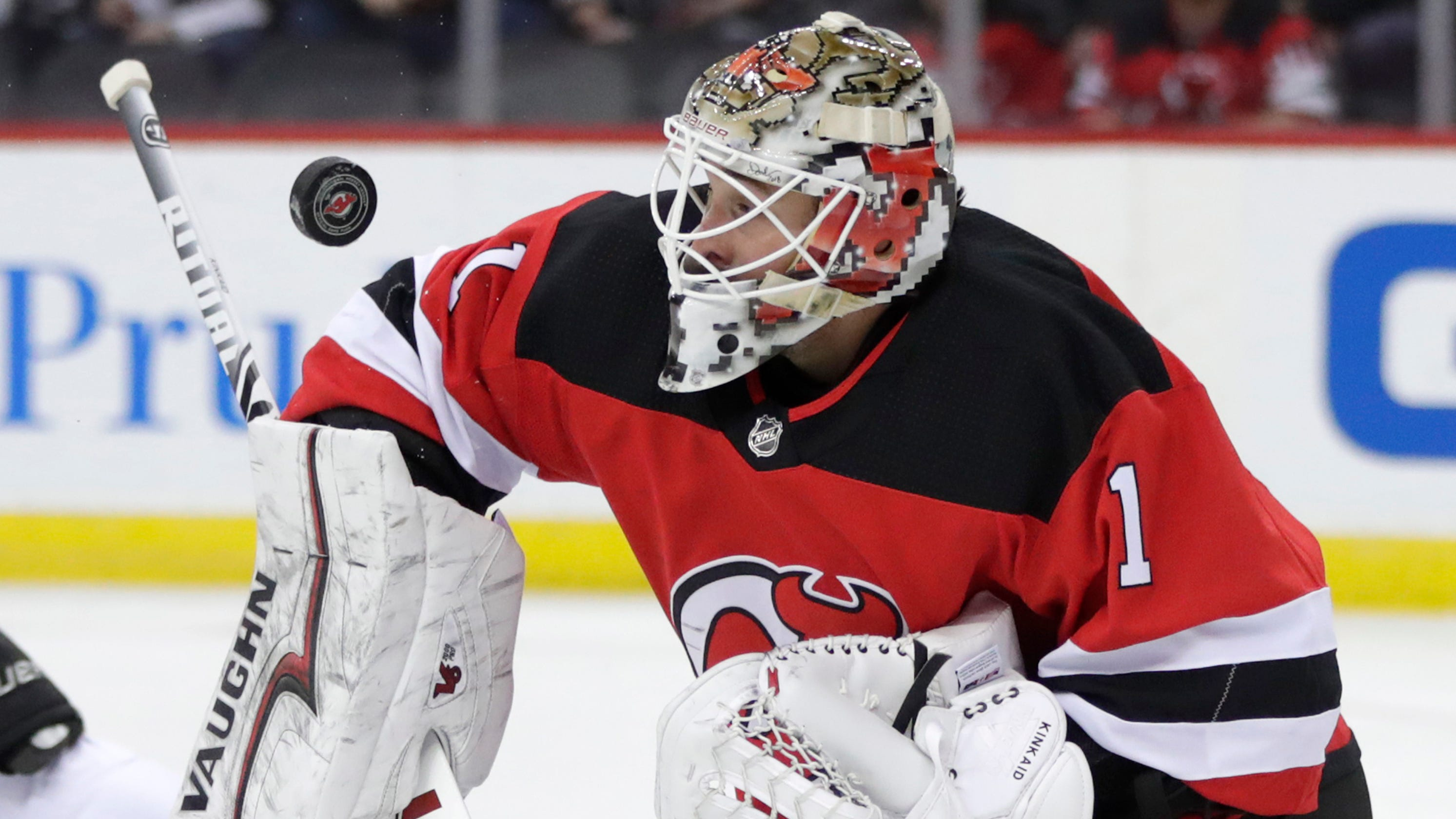 NJ Devils trade Keith Kinkaid to Columbus Blue Jackets on NHL trade  deadline day f807fa040