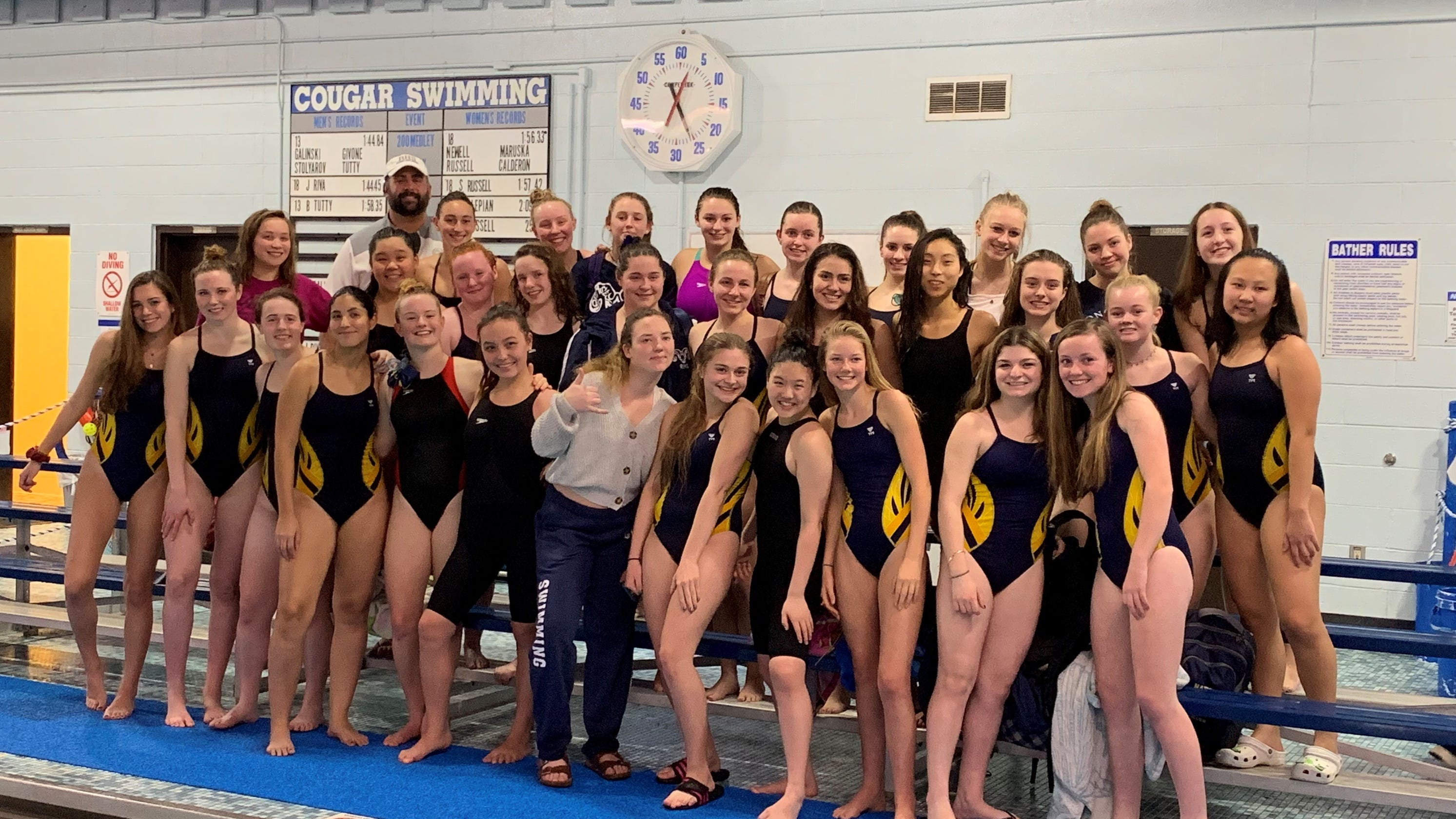 State Swimming Tournament: Ramsey Girls Earn First