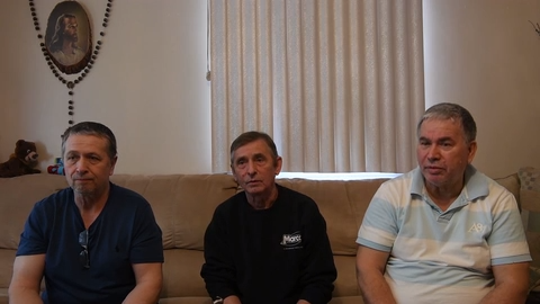 Marko, Slobodan and Milan Knezevic worked at Marcal Paper. Now their future is uncertain.