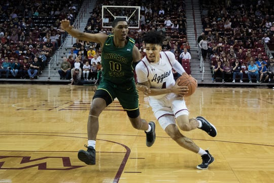 JoJo Zamora and New Mexico State return to WAC play on Thursday at Bakersfield.