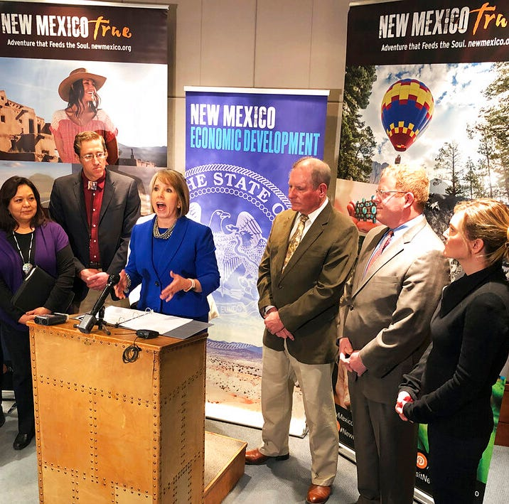 New Mexico Gov. Lujan Grisham authorizes 17% salary increases for Cabinet secretaries