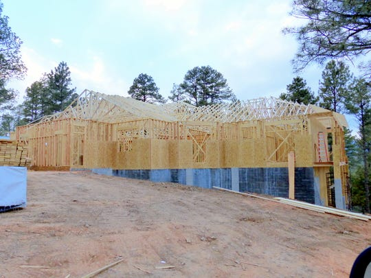 Three permits were issued in July for new housing starts in Ruidoso.