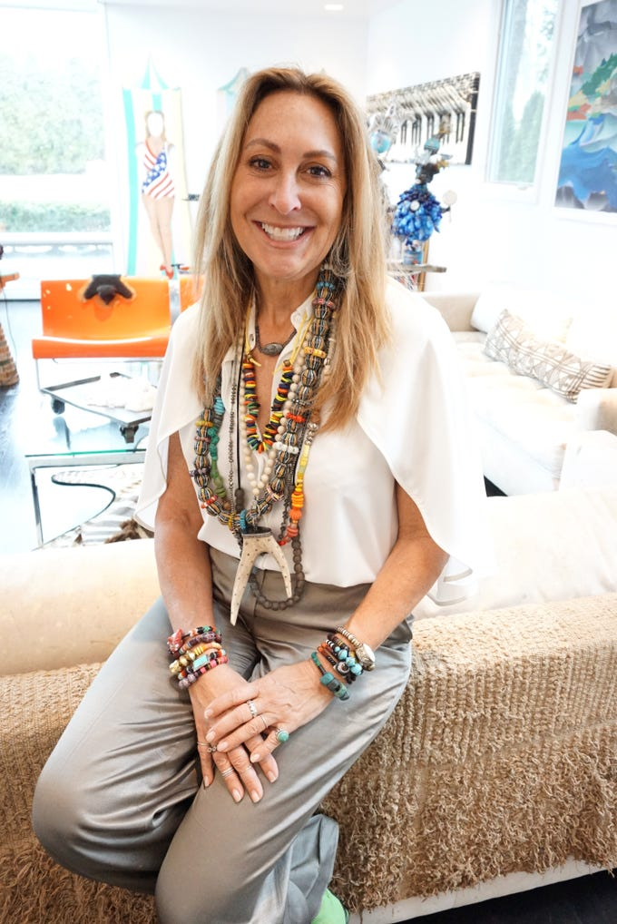 Birmingham's Jolie Altman will be displaying and selling her line of handmade jewelry in Detroit at a pop-up shop near Cobo Hall at the Detroit Foundation Hotel.