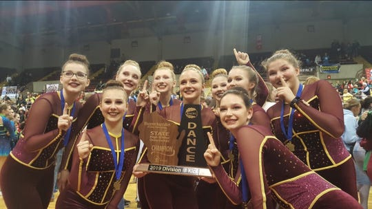 Omro won their first state title in Division 3 kick Feb. 2 in La Crosse.
