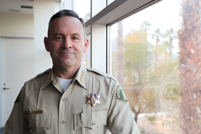 Riverside County Sheriff Chad Bianco says he can help get costs under control for cities that contract with his department.