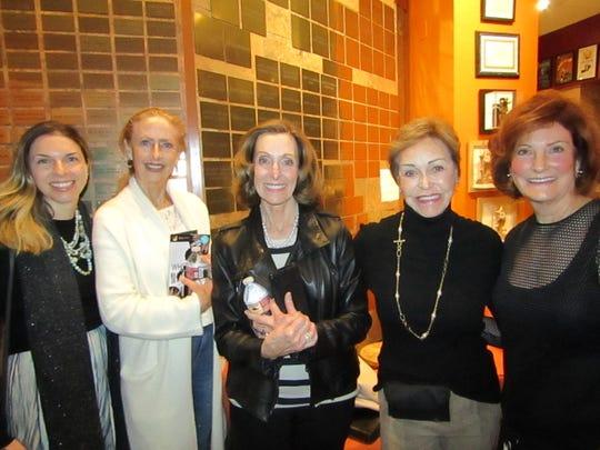 Alexandra Reese, Sharon Parks, Cheryl Howard, Peggy Jacobs, Sandra Bosley