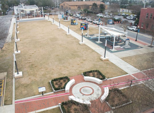 A grand opening for the Museum Plaza behind the T.T. Wentworth Jr. Florida State Museum in downtown Pensacola is set for Friday morning.